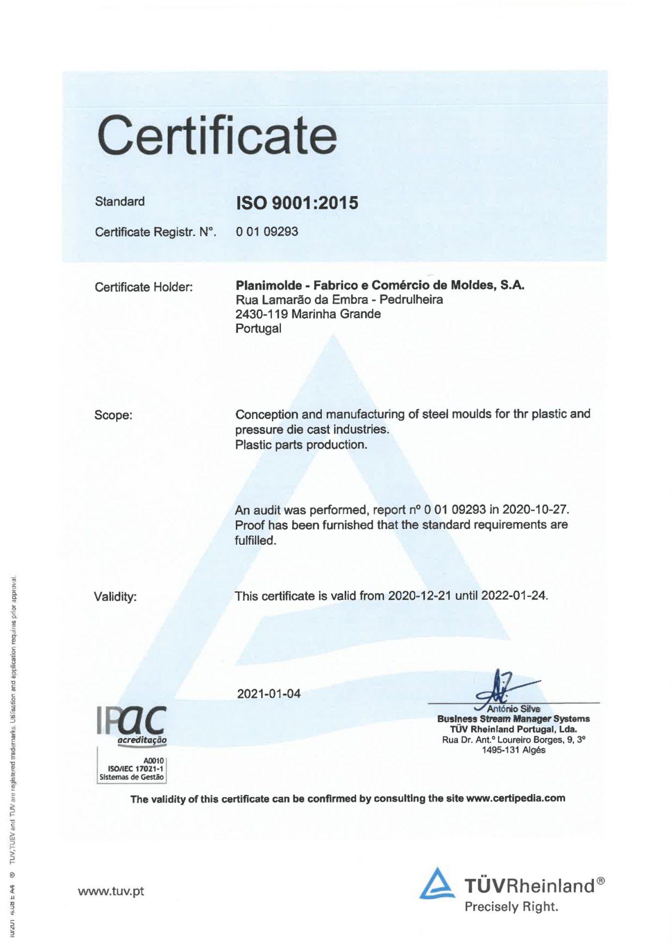 CertificadoISO9001 EN